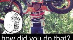 motor Trial lincah banget gan jangan tiru pake motor matic ya !! bahaya :D || TAkahashi