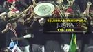 Selebrasi Persipura Jayapura Juara TSC 2016