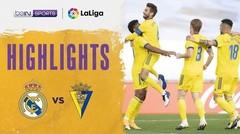Match Highlight   Real Madrid 0 vs 1 Cadiz   La Liga Santander 2020