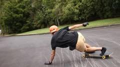 Olah Raga Extrem longboard digelar di ngargoretno magelang