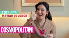 Serunya Mawar de Jongh Bermain 3 on 3 Bersama Cosmopolitan Indonesia!