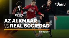 Highlight - AZ Alkmaar vs Real Sociedad I UEFA Europa League 2020/2021