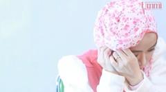 Tutorial Hijab Syari Lebaran dengan Pashmina