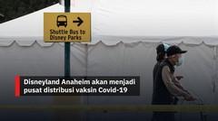 Disneyland Anaheim jadi pusat distribusi vaksin Covid-19