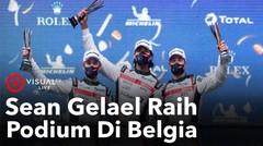 Sean Gelael, Stoffel dan Tom Raih Podium Di Belgia