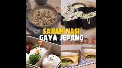 Resep 4 Sajian Nasi Gaya Jepang | Nasi Khas Jepang