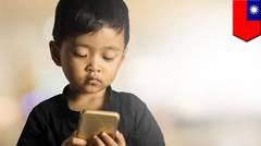 Bocah 4 tahun alami kerusakan mata karena smartphone - TomoNews