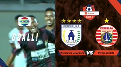 Goooll!! Tendangan Keras Mandowen - Persipura Ke Tiang Dekat Menjebol Gawang Persija. Persipura Unggul 1-0 - Shopee Liga 1