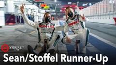 Sean Gelael/Stoffel Vandoorne Runner-up Di Balapan Asian Le Mans Series Dubai