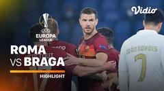 Highlight - Roma vs Braga I UEFA Europa League 2020/2021