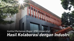 Ini Hasil Kolaborasi IPB University dengan Industri