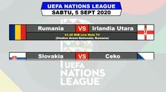 Jadwal Pertandingan Liga UEFA Sabtu 5 September 2020