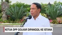 Ketua DPP Golkar Zainuddin Amali Dipanggil ke Istana - AAS News TV