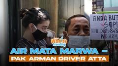 Tangisan Tsania Marwa - Driver Viral Jadi Sopir Atta Halilintar
