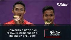 Jonathan Cristie dan Perwakilan Indonesia di Indonesia Open 2019