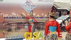 Pembukaan Festival Cisadane  Kota Tangerang Tahun 2019