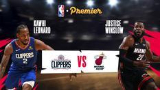 LA Clippers vs Miami - 25 Jan 2020 | 08:00 WIB