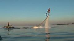flyboard disiang hari