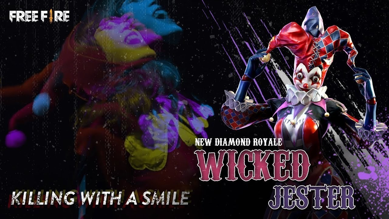 Terungkap! Wicked Jester Akan Tersedia di Diamond Royale - Garena Free Fire