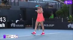 Match Highlights | Danielle Collins 2 vs 0 Ashleigh Barty | WTA Adelaide International 2021