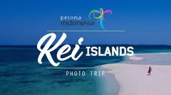 Kepulauan Kei pasir pantainya lembut dan putih!