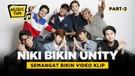 Zweitson & Fiki UN1TY Girang Karena 'Bangun-Bangun Viral'
