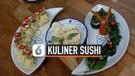 Kuliner Shusi Sundanese Perpaduan Jepang dan Sunda