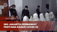 DKI Jakarta peringkat pertama kasus positif dan sembuh COVID-19