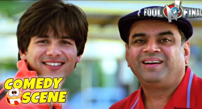 Shahid Kapoor Paresh Rawal Funny Scene Comedy Scene Fool N Final Hindi Film