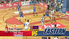 Full Games San Miguel Alab Pilipanas VS Hong Kong Eastern (Playoff Quarter Final Game 1)