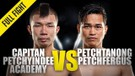 Capitan vs. Petchtanong - ONE Championship Full Fight