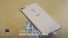 ASUS ZenFone 3 Ultra Hands-on