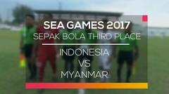 Sepak Bola Third Place - Indonesia vs Myanmar (Sea Games 2017)