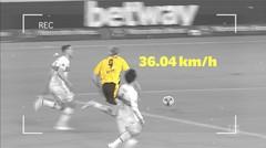 Bintang Borussia Dortmund, Erling Haaland, Manusia Tercepat di Bundesliga Musim Ini