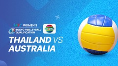 Full Match | Thailand vs Australia | AVC Women's 2020 Volleyball Qualification