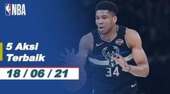 Top 5 | Aksi Terbaik - 18 Juni 2021 | NBA Playoffs 2020/21