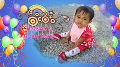 Selamat Ulang Tahun Baby Raesha yang Ke 1