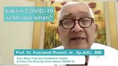 Peran Vaksinasi Covid-19 dalam Mengakhiri Pandemi.