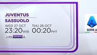 Juventus vs Sassuolo - Rabu dan Kamis, 27-28 Oktober 2021 | Serie A