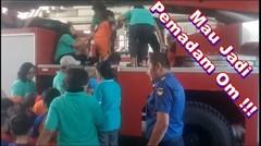 Suasana Kunjungan Edukasi Anak Anak TK Di Mabes Duriangkang PBK BP Batam