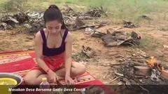 Masakan Desa Bersama Gadis Desa Cantik