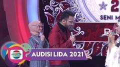 Oh Nooo!!! Reza DA Kepergok Valda Rayu Rayu Tatu (Banten)!!   LIDA Audisi 2021