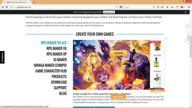 RPG MAKER VX ACE tutorial 1 0 1 PERKENALAN GAME RPG MAKER VX ACE - YouTube
