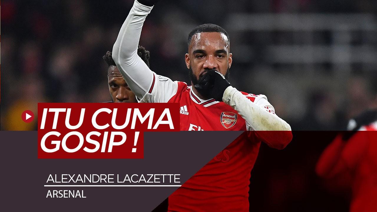 Alexandre Lacazette Tanggapi Rumor Hengkang Dari Arsenal