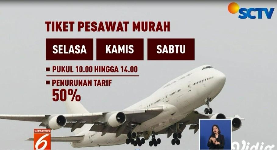 Tiket Pesawat Turun Mulai 11 Juli 2019 Pahami Ketentuannya Liputan 6 Siang