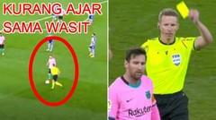 Messi FRUSTASI Dan Tendang Bola Ke Arah Wasit! Langsung Kartu