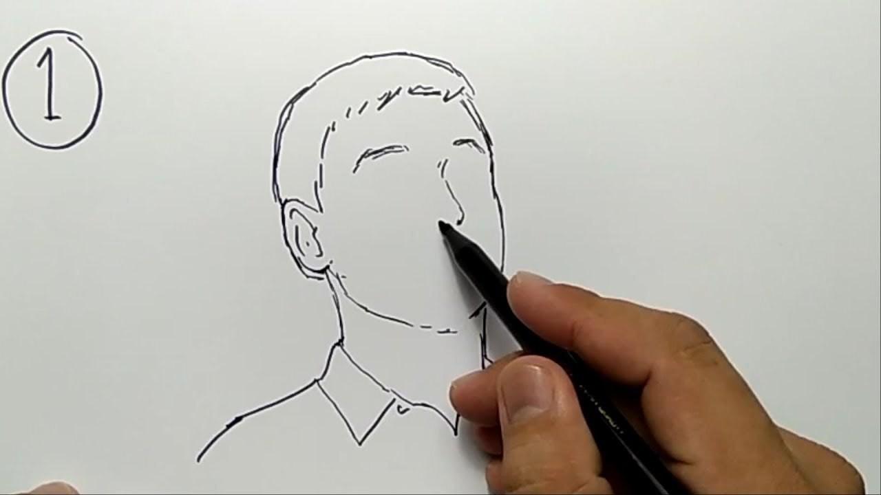 Part2 AYO TEBAK 3 SKETSA WAJAH YOUTUBER SIAPAKAH INI Menggambar Simpel Dan Mudah