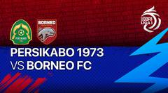 Full Match - PERSIKABO 1973 VS Borneo FC   BRI Liga 1 2021/2022