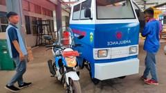 Motor Ambulance Rakitan Karya Pelajar SMKN Sumsel