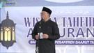 Oded M. Danial Memberikan Sambutan pada Acara Wisuda Akbar Santri Tahfidz Quran Daarut Tauhid